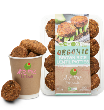 Organic Brown Rice Lentil Patties