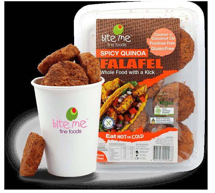 Spicy Quinoa Falafel