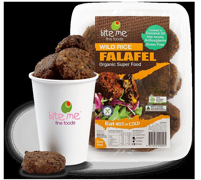 Wild Rice Falafel