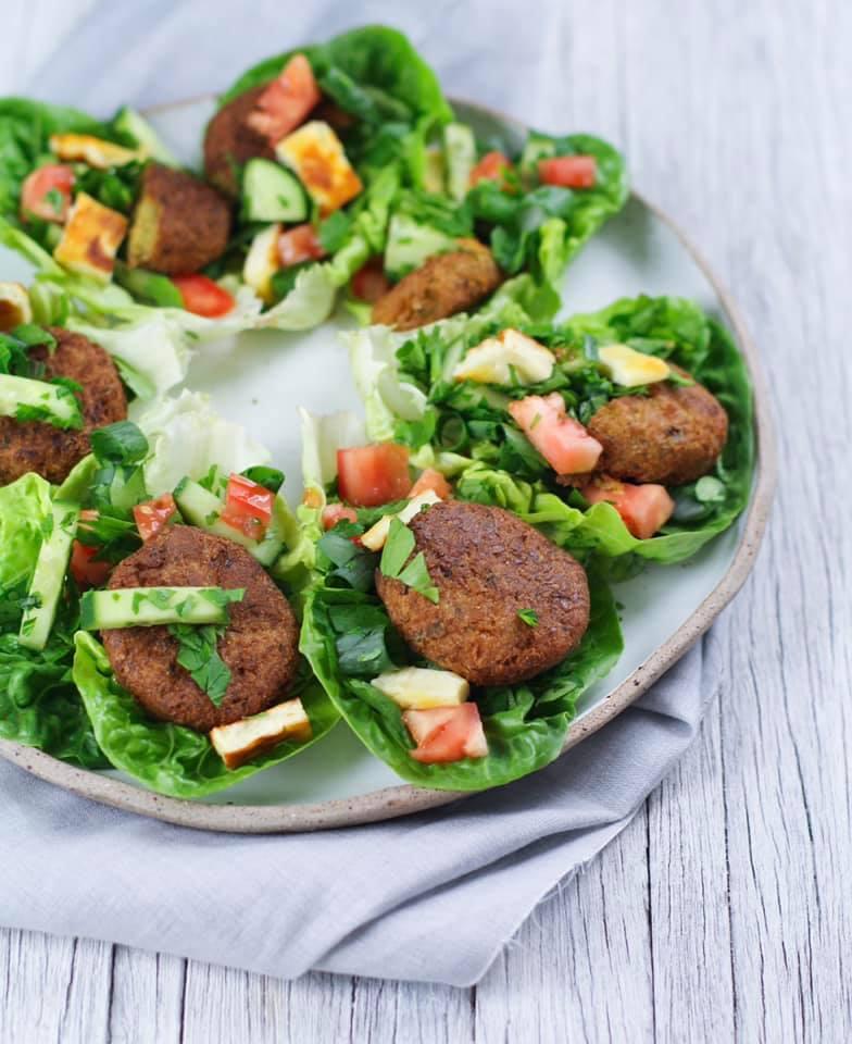Tabouli & Falafel Canapes